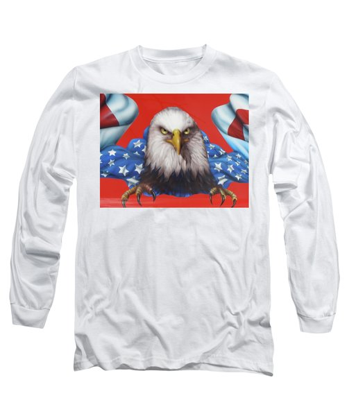 America Patriot  Long Sleeve T-Shirt
