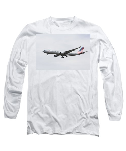 American Airlines Airbus A330 Long Sleeve T-Shirt