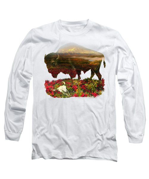 American Buffalo Long Sleeve T-Shirt