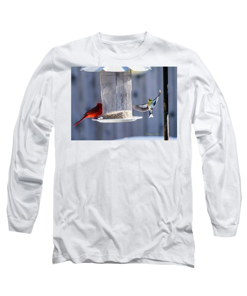 American Goldfinch Inbound Long Sleeve T-Shirt
