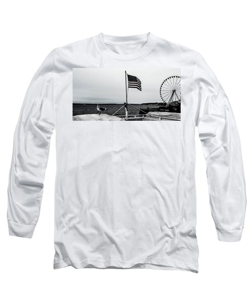 American Seattle Long Sleeve T-Shirt