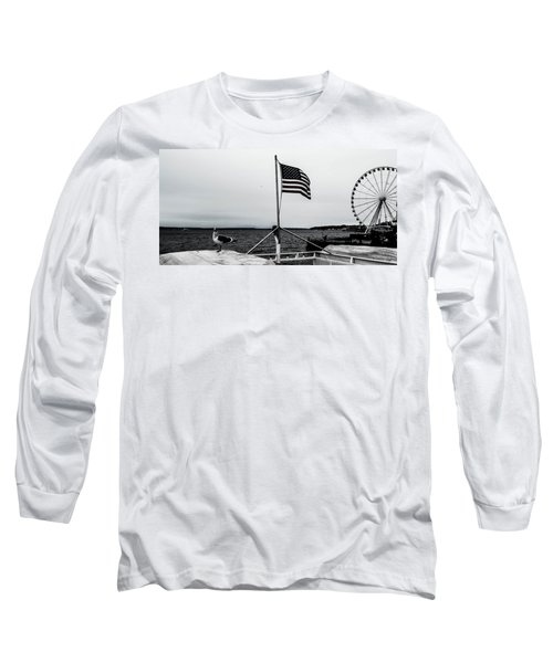 American Seattle Long Sleeve T-Shirt