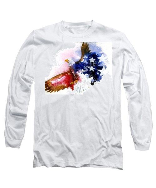 American Spirit Long Sleeve T-Shirt
