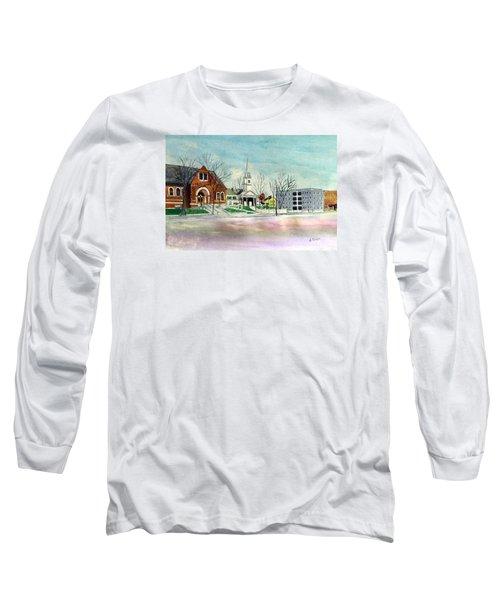 Amesbury Public Library Circa 1920 Long Sleeve T-Shirt