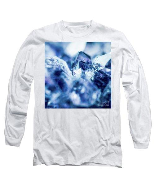 Amethyst Blue Long Sleeve T-Shirt by Sharon Mau