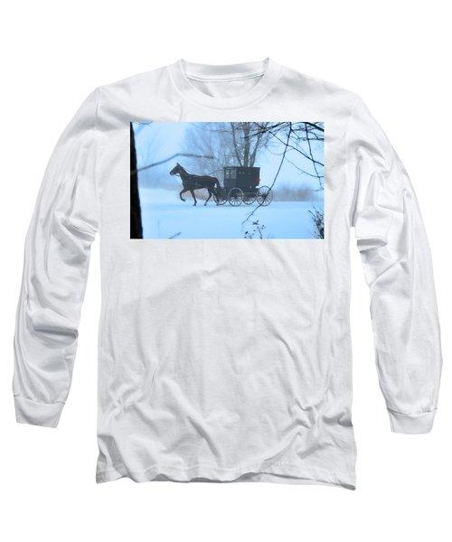 Amish Dreamscape Long Sleeve T-Shirt