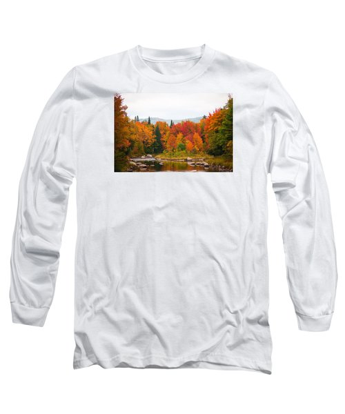 Long Sleeve T-Shirt featuring the photograph Ammonoosuc River by Robert Clifford