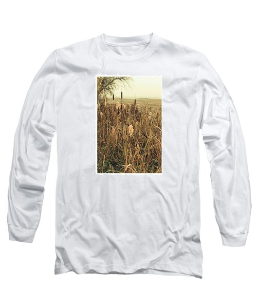 *among The Reeds  #landscape Long Sleeve T-Shirt