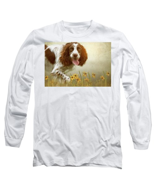 Amongst The Flowers Long Sleeve T-Shirt