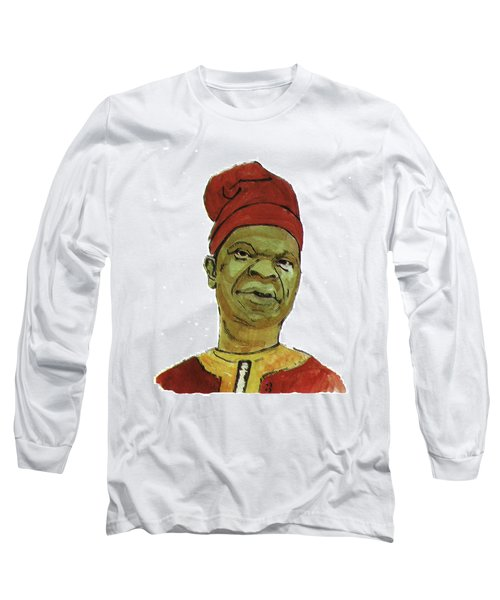 Amos Tutuola Long Sleeve T-Shirt by Emmanuel Baliyanga