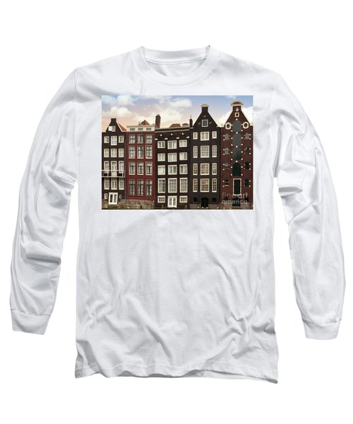 Amsterdam Architectre At Twilight Long Sleeve T-Shirt