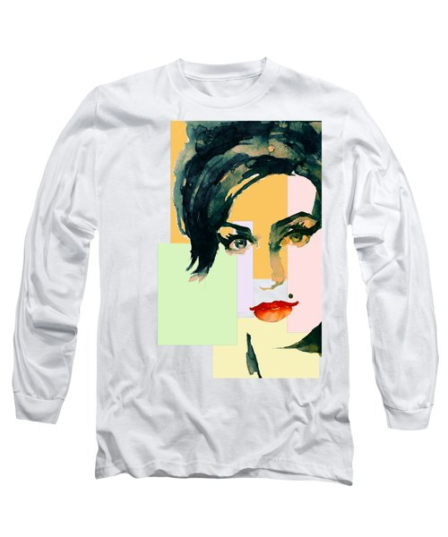 Amy... Love Long Sleeve T-Shirt by Laur Iduc