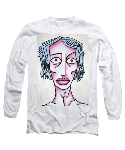 amy Long Sleeve T-Shirt by Thomas Valentine