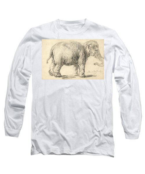An Elephant Long Sleeve T-Shirt