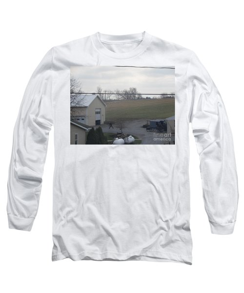 An Evening Game Long Sleeve T-Shirt