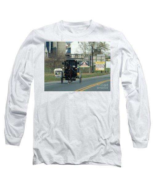 An Evening Ride Long Sleeve T-Shirt