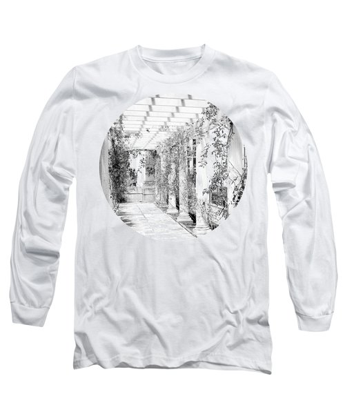 An Eye For Beauty- Black And White Version Long Sleeve T-Shirt