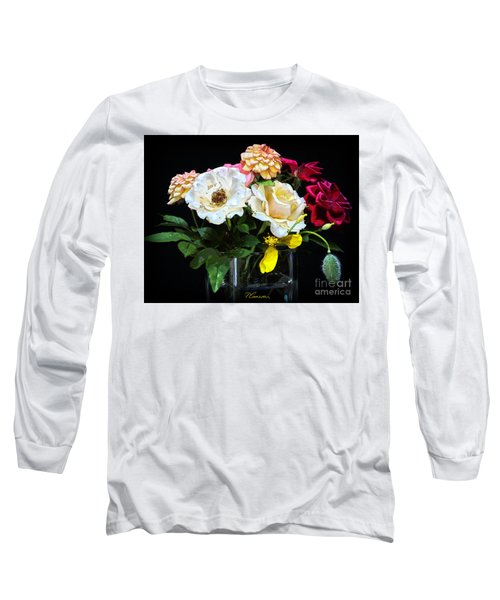 Long Sleeve T-Shirt featuring the photograph An Informal Study by Tom Cameron
