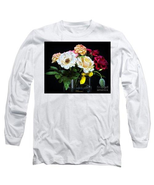 An Informal Study Long Sleeve T-Shirt by Tom Cameron