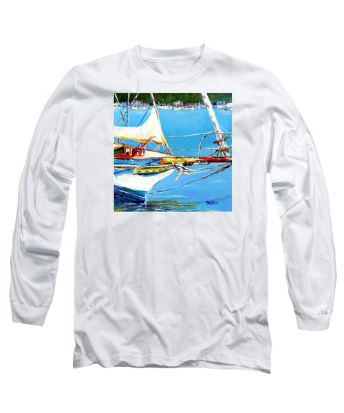 Anchored Long Sleeve T-Shirt by Marti Green