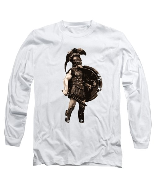 Ancient Greek Hoplite Long Sleeve T-Shirt