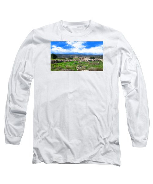 Ancient Ruins In Israel Long Sleeve T-Shirt