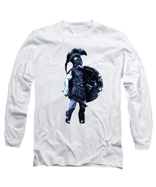 Ancient Spartan Hoplite Long Sleeve T-Shirt