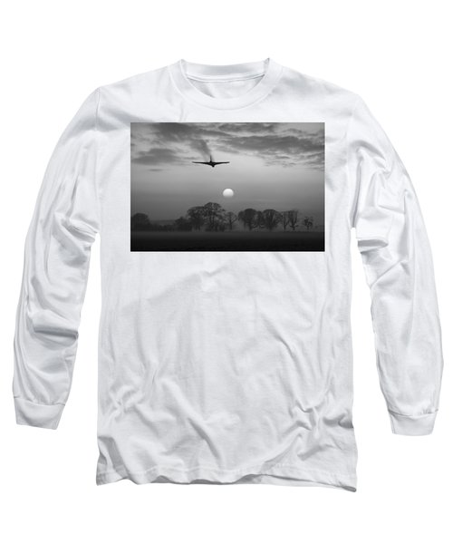 And Finally Black And White Version Long Sleeve T-Shirt