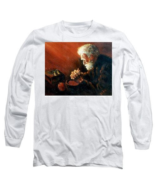 And The Old Man Prayed Long Sleeve T-Shirt