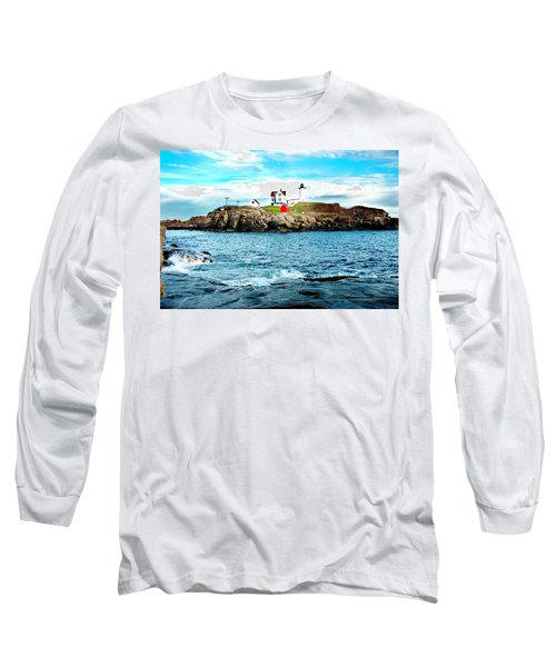 And Yet Another Long Sleeve T-Shirt by Greg Fortier