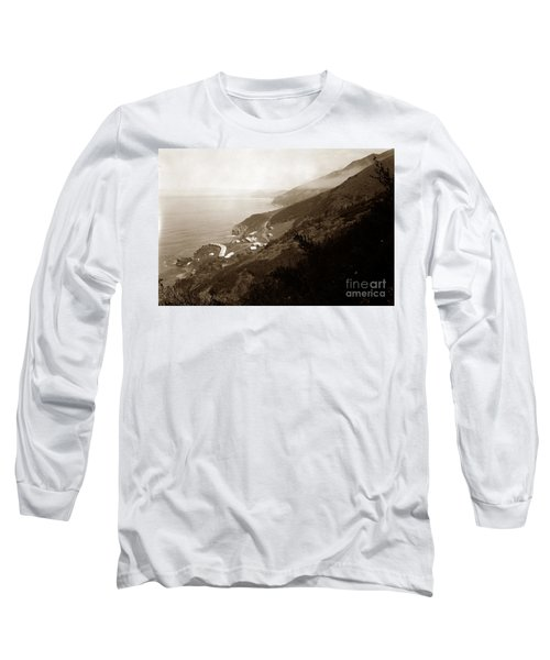 Anderson Creek Labor Camp Big Sur April 3 1931 Long Sleeve T-Shirt