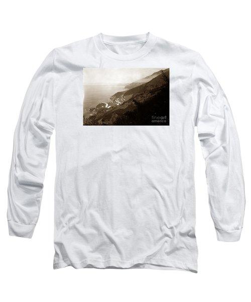 Anderson Creek Labor Camp Big Sur April 3 1931 Long Sleeve T-Shirt