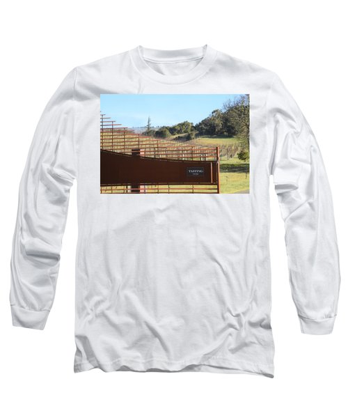 Anderson Valley Vineyard Long Sleeve T-Shirt
