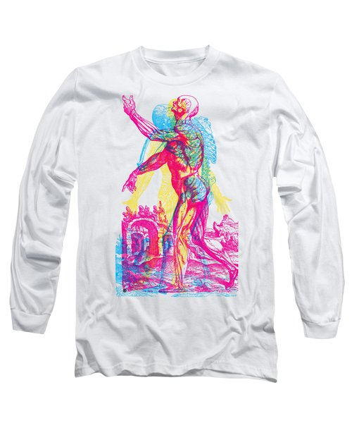 Andreae Vesalii Anatomy 1 Long Sleeve T-Shirt