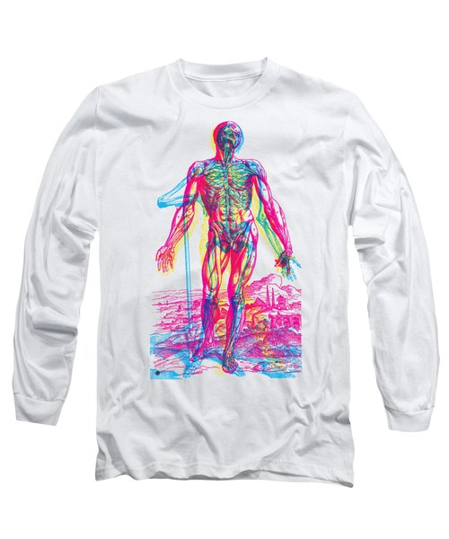 Andreae Vesalii Anatomy 2 Long Sleeve T-Shirt