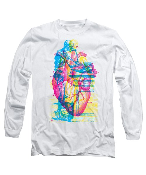 Andreae Vesalii Anatomy 3 Long Sleeve T-Shirt