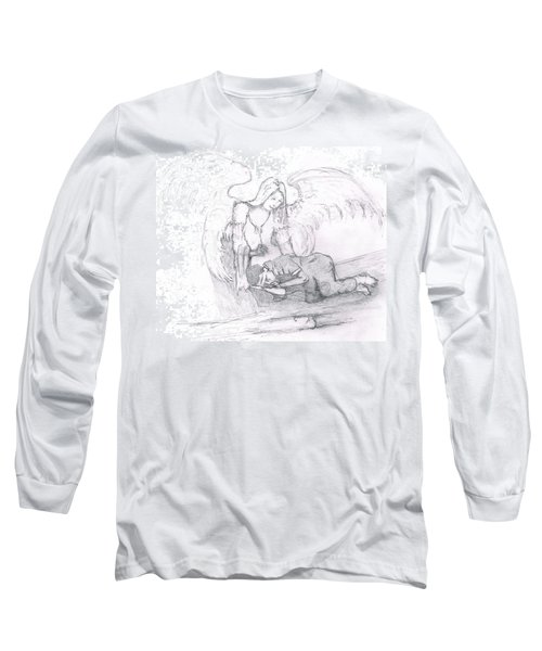 Angel And The Man Long Sleeve T-Shirt