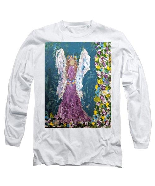 Angel Diva Long Sleeve T-Shirt