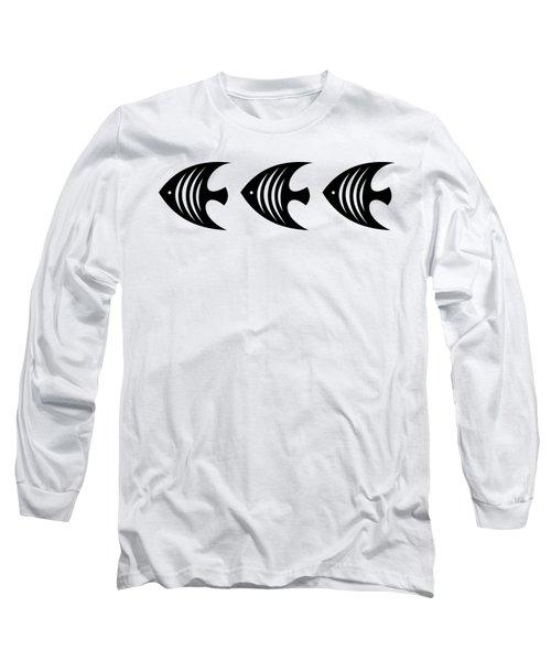 Angel Fish Trio  Long Sleeve T-Shirt