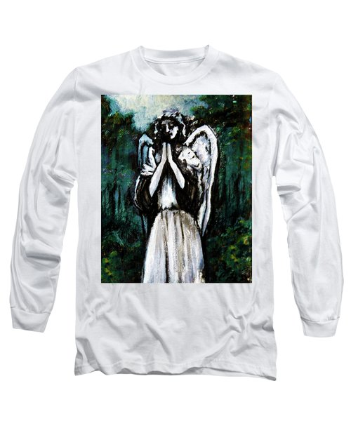 Angel In The Garden Long Sleeve T-Shirt