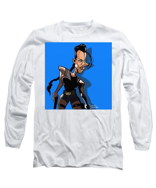 Angelina Jolie Long Sleeve T-Shirt
