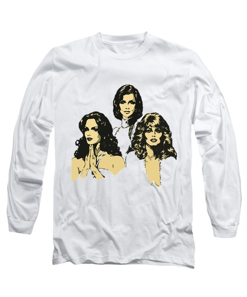 Angels Long Sleeve T-Shirt by Julio Lopez