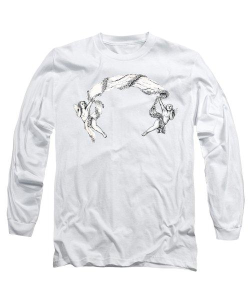 Angels On High Long Sleeve T-Shirt