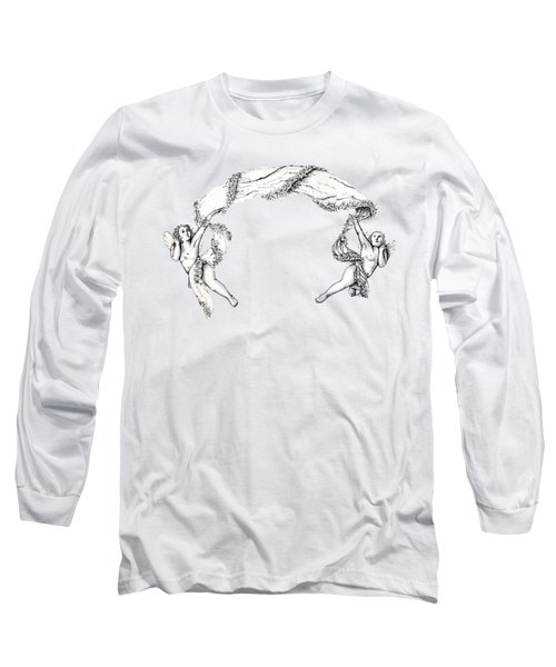 Angels On High Long Sleeve T-Shirt