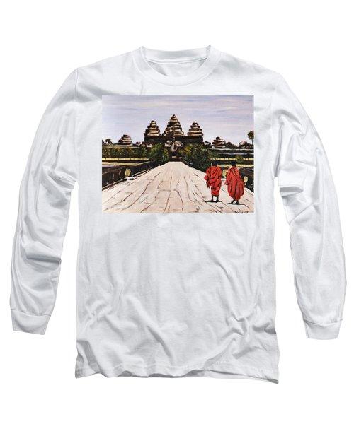 Angkor Wat Long Sleeve T-Shirt