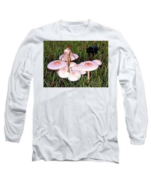 Angoisse Feminine#1 Long Sleeve T-Shirt