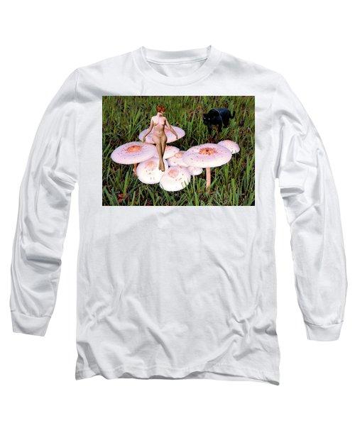 Angoisse Feminine#1 Long Sleeve T-Shirt