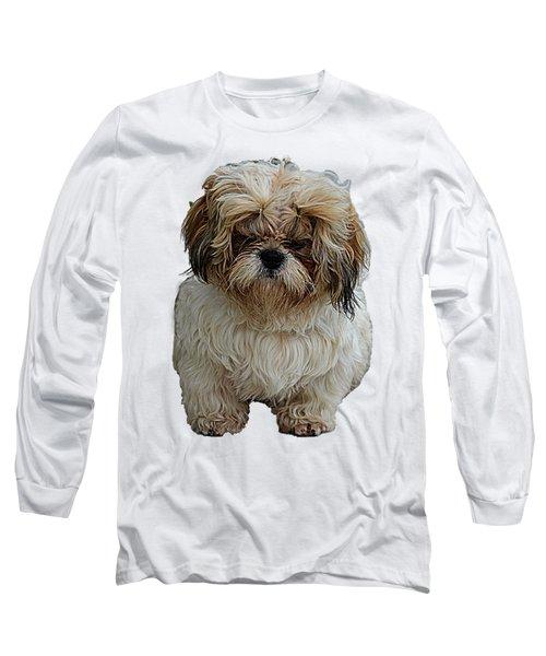 Angry Dog I Long Sleeve T-Shirt