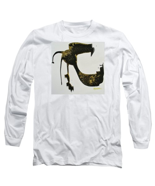 Long Sleeve T-Shirt featuring the painting Animalia II by Mary Sullivan