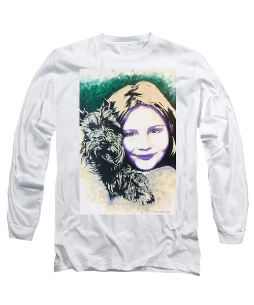 Anita Long Sleeve T-Shirt by Victor Minca
